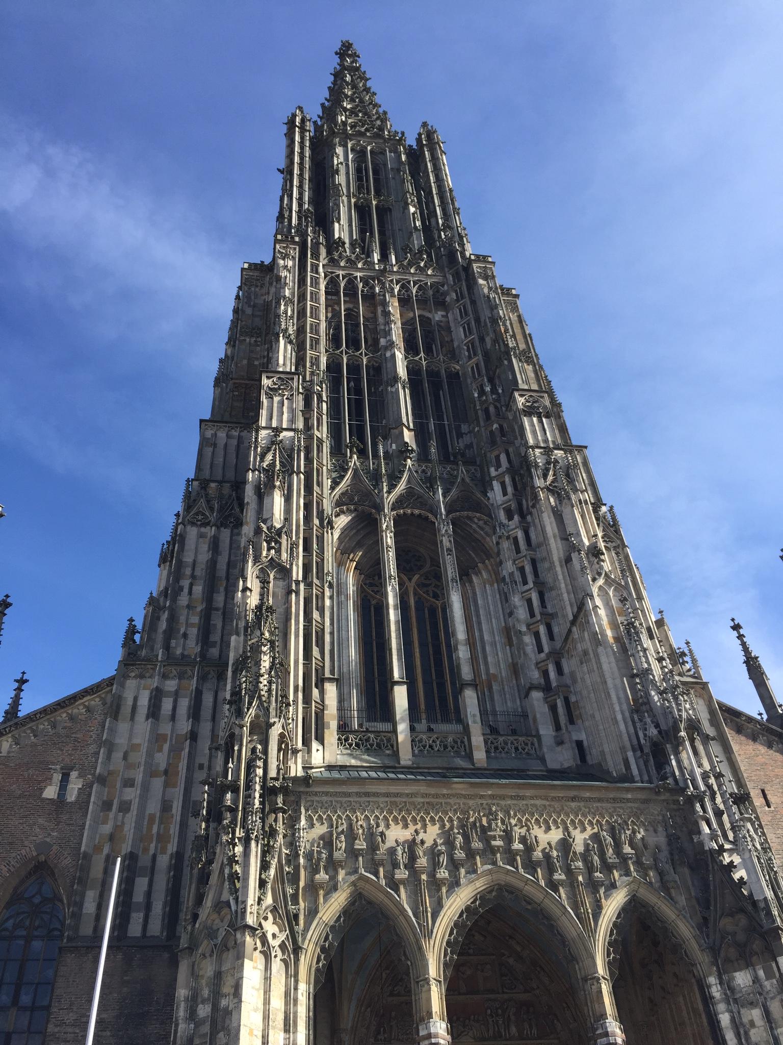 Highest Church tower in the world - Ulm