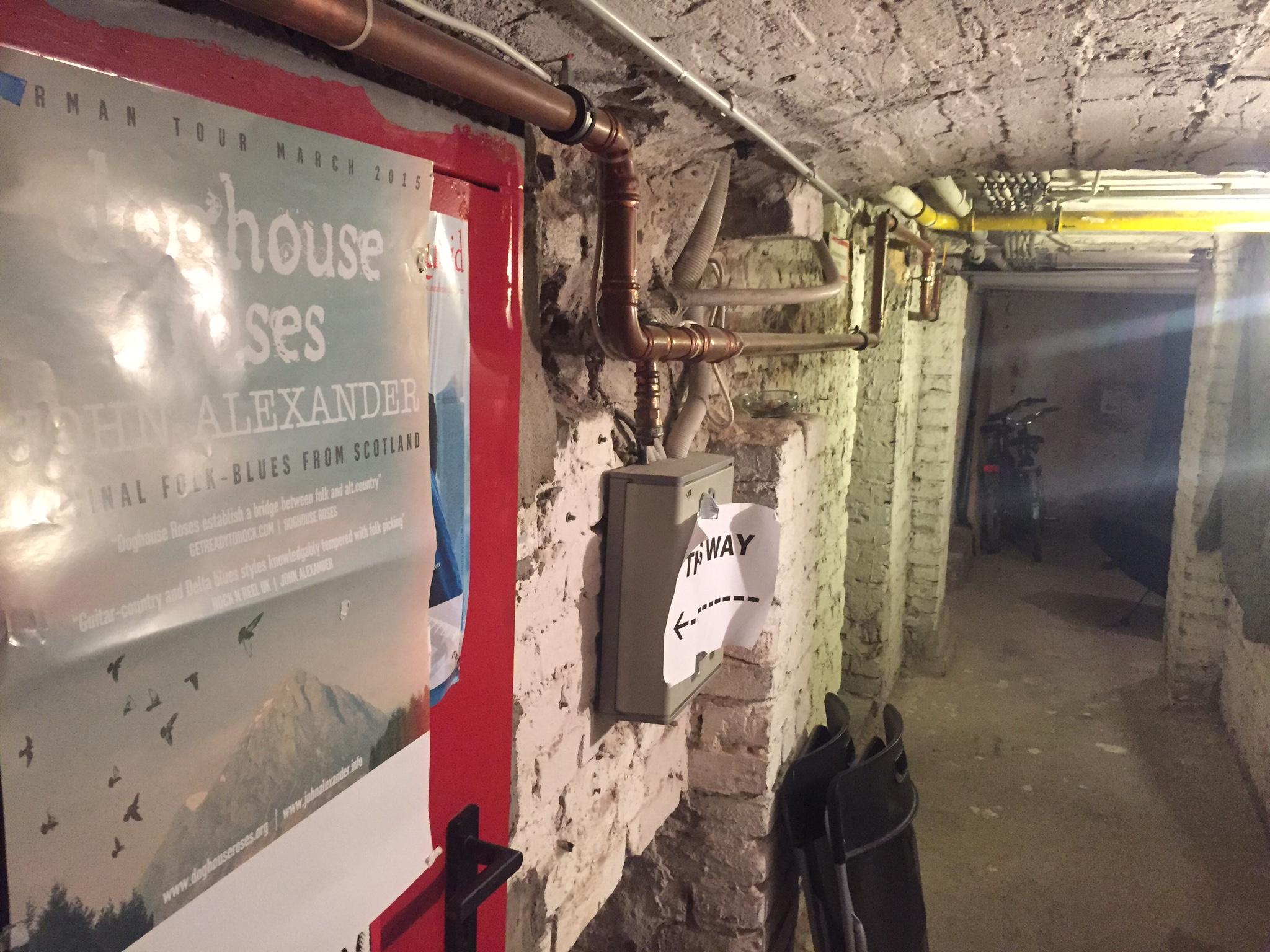 the Berlin basement gig