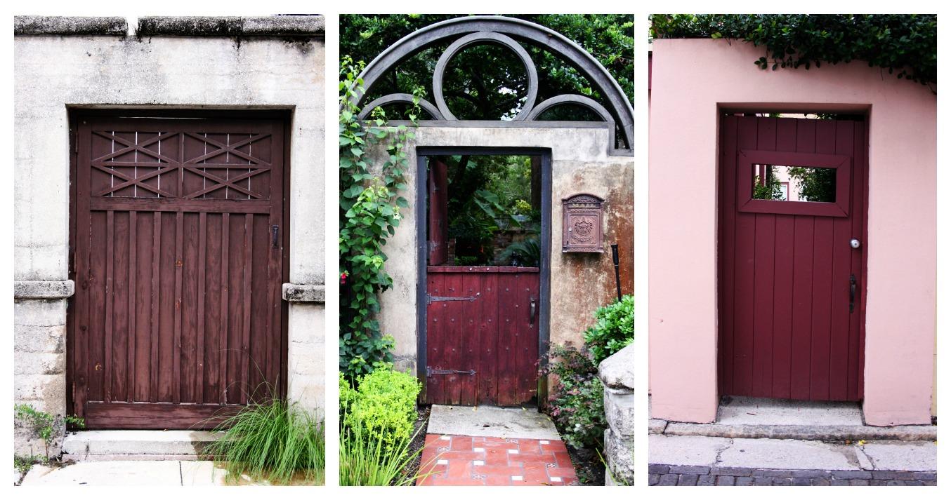 St. Augustine doors
