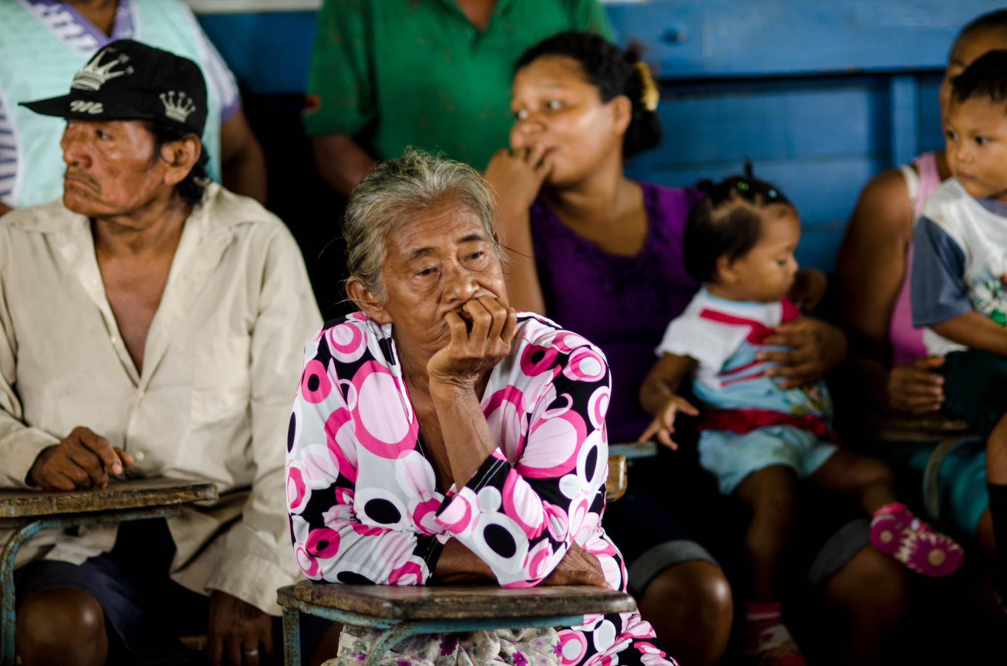 Village Meeting - Photo, Tom Miller