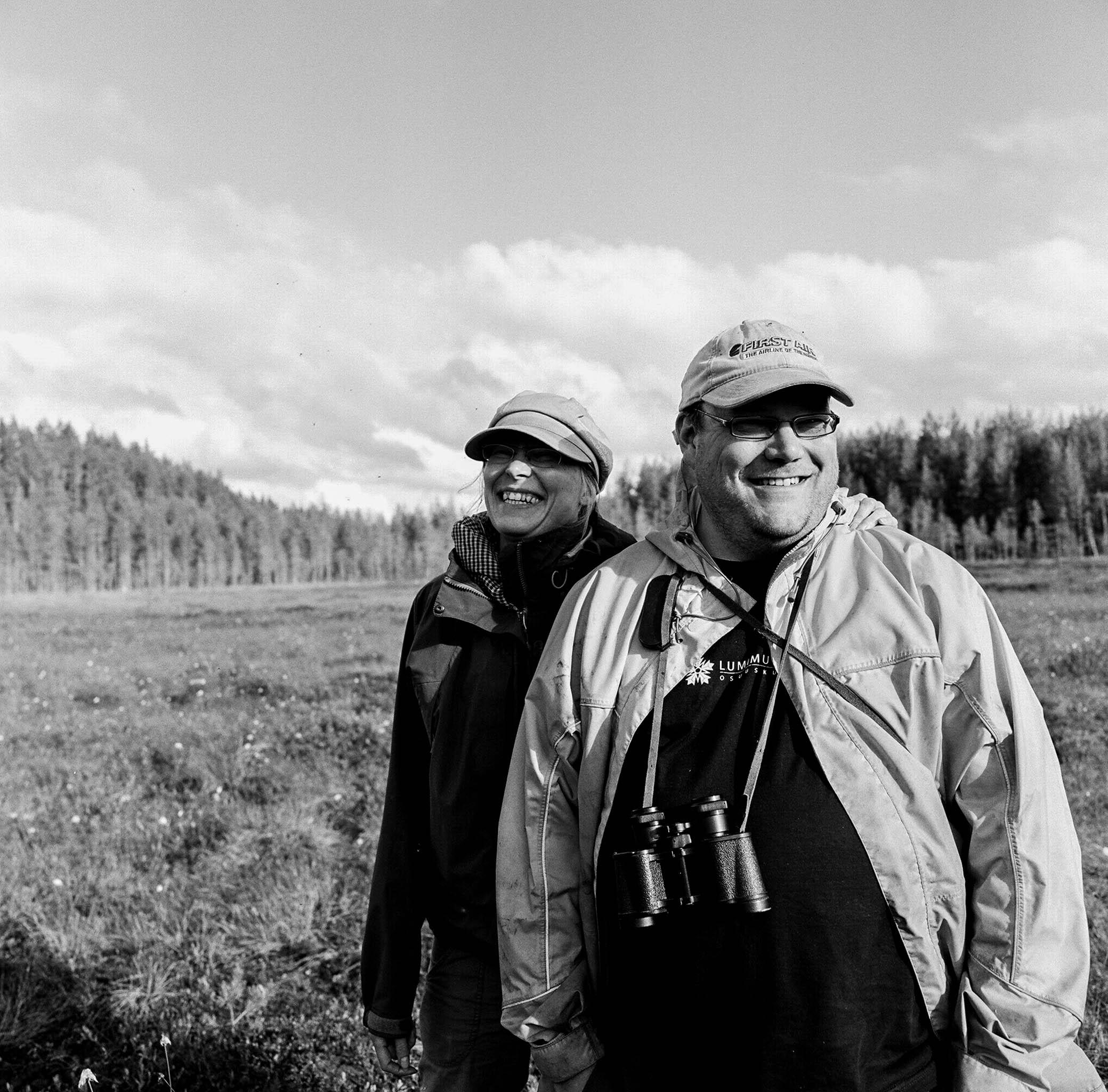 Tero and Kaisu Mustonen, Vechesuo Marshmire, near Selkie, Finland