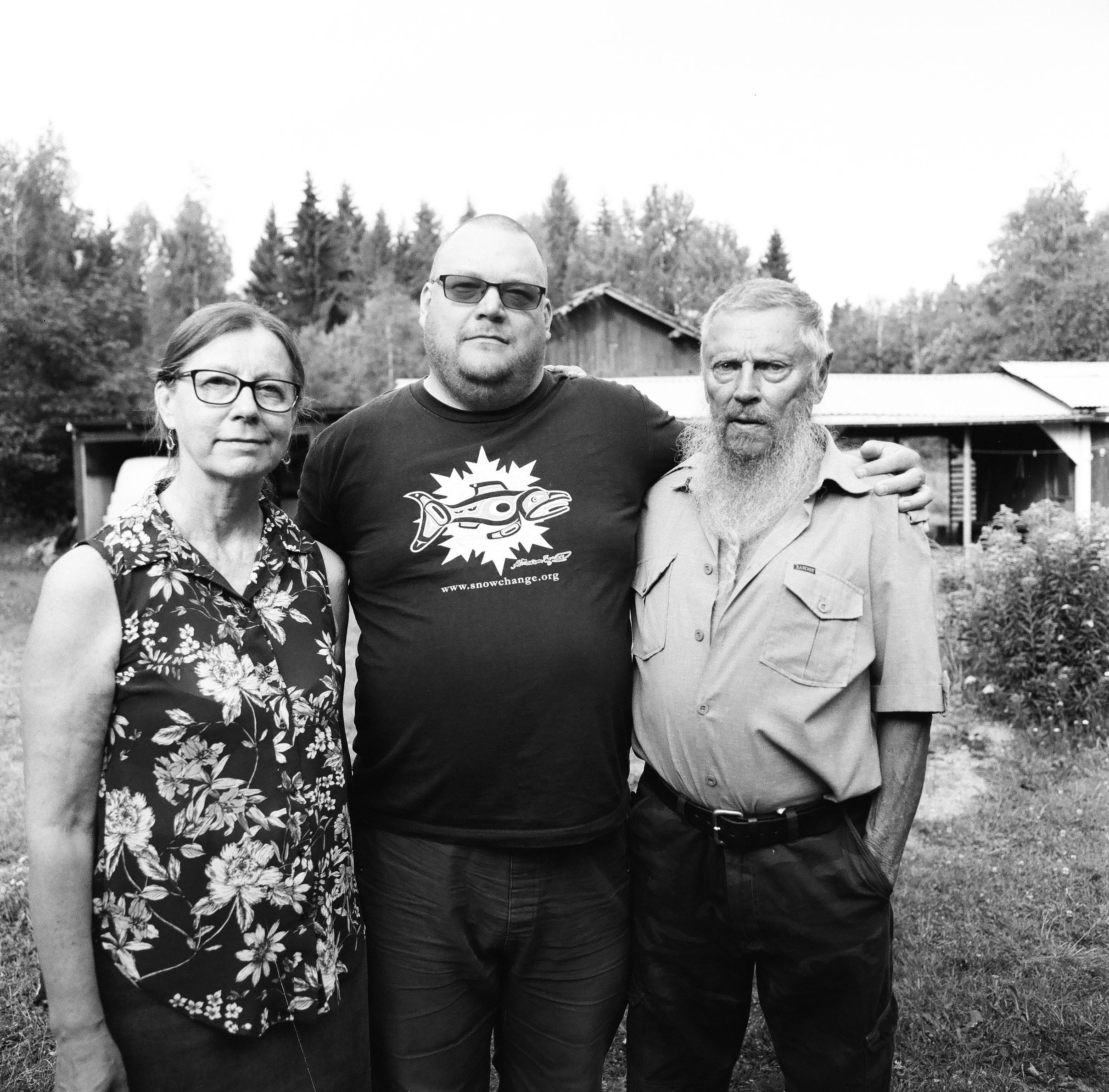 Rita Lukkarinen, Producer Tero Mustonen, Eero Murtomäki, Summer 2018