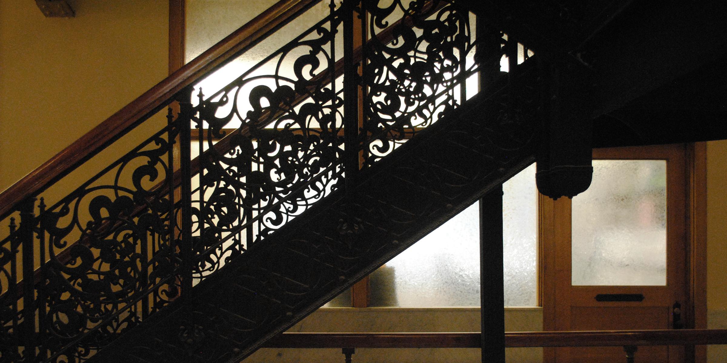 Juxtaposed stairs