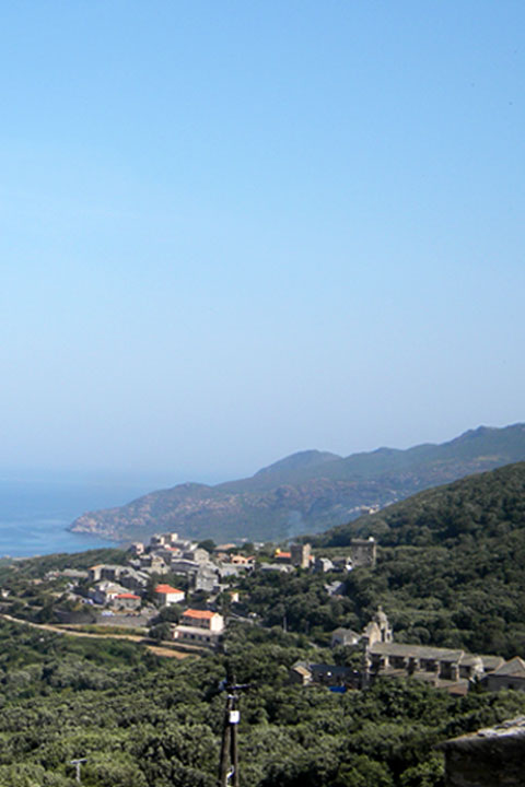 View of Morsiglia commune
