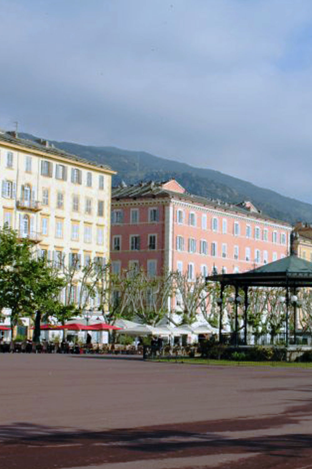 Place Saint Nicolas in the city of Bastia