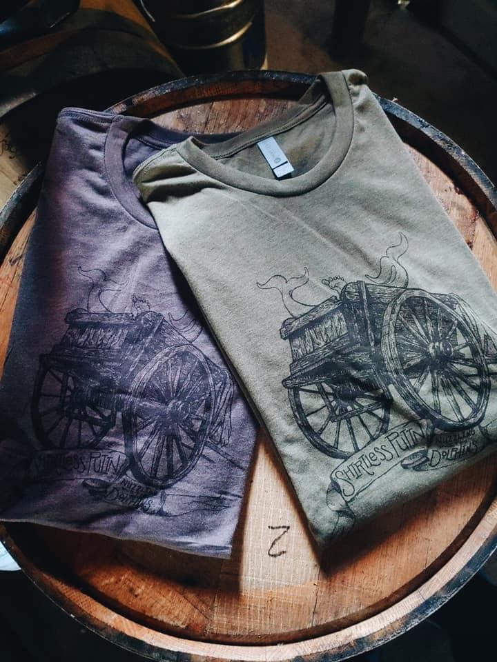 Hand-Printed T-Shirts