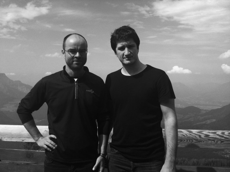 Johannes und Zlatko Denken am Adlerhorst