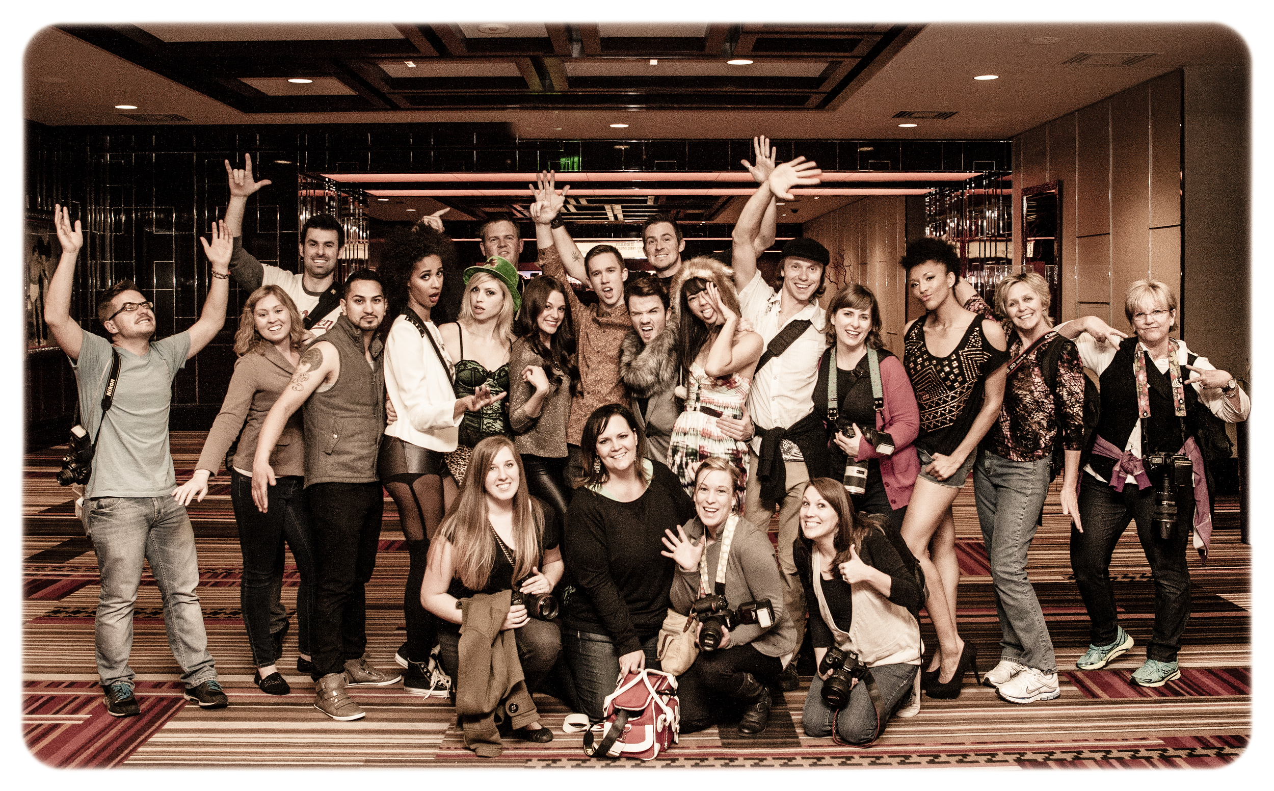Fancy Hotel Bombing 2013!  End of the evening after being kicked out of every hotel we shot in!