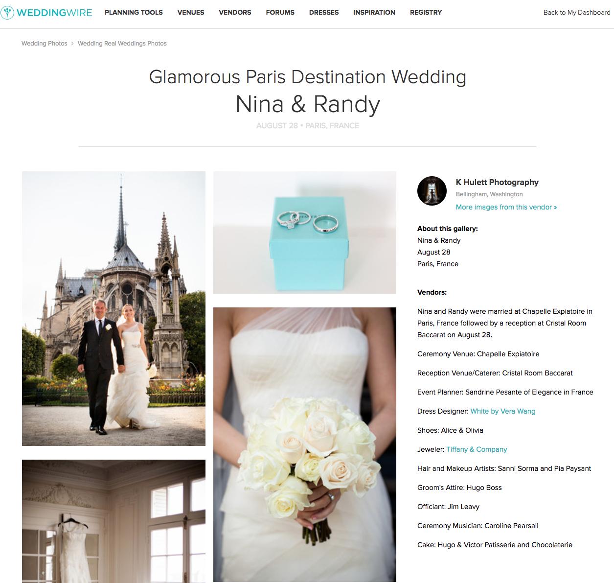 Wedding Wire Network - Paris, FR