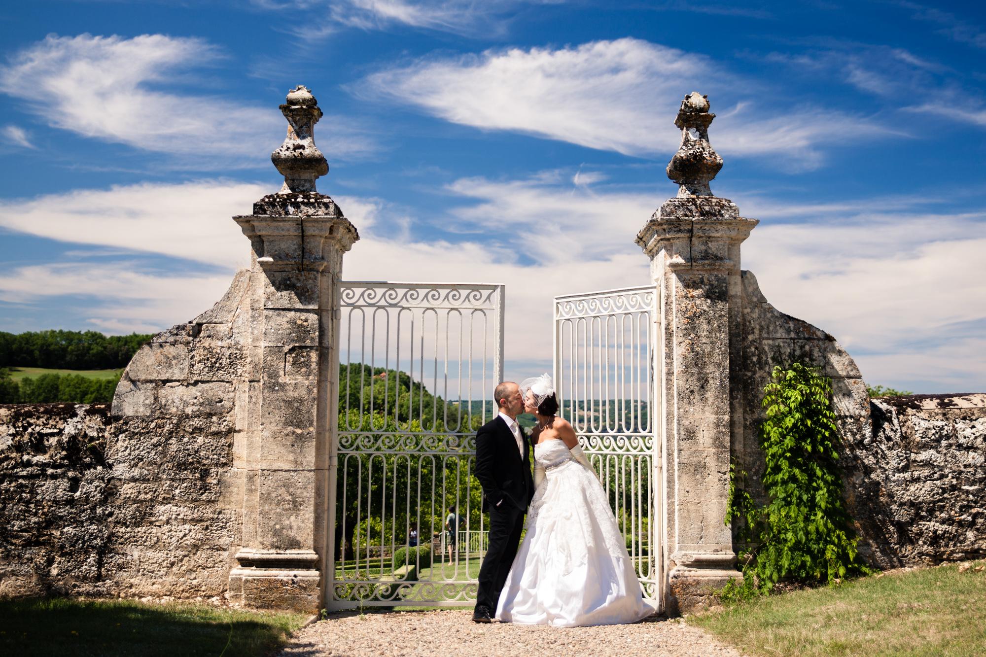 French Wedding Style - Dordogne Valley, France
