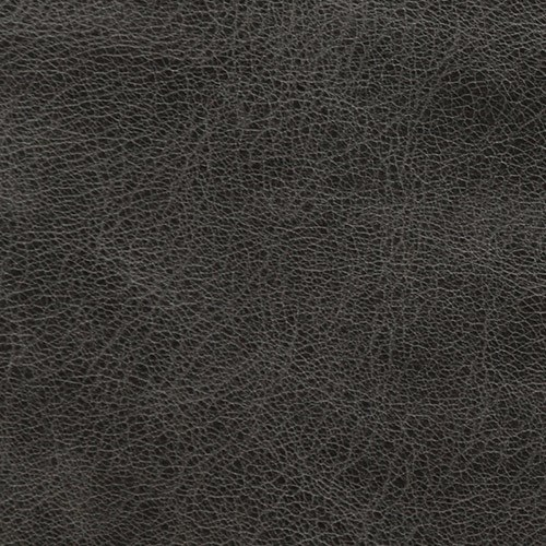 Distressed Italian Leather: Onyx