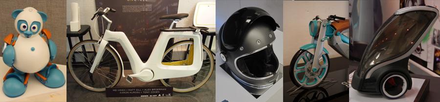 Various Works from University of Cincinnati Industrial Design Students.