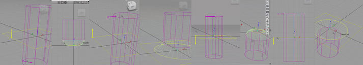 Surface Fillet Tool and its four possible results