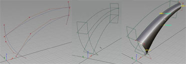 Simple construction geometry built for aligning surfaces symmetrical to the y0 plane.