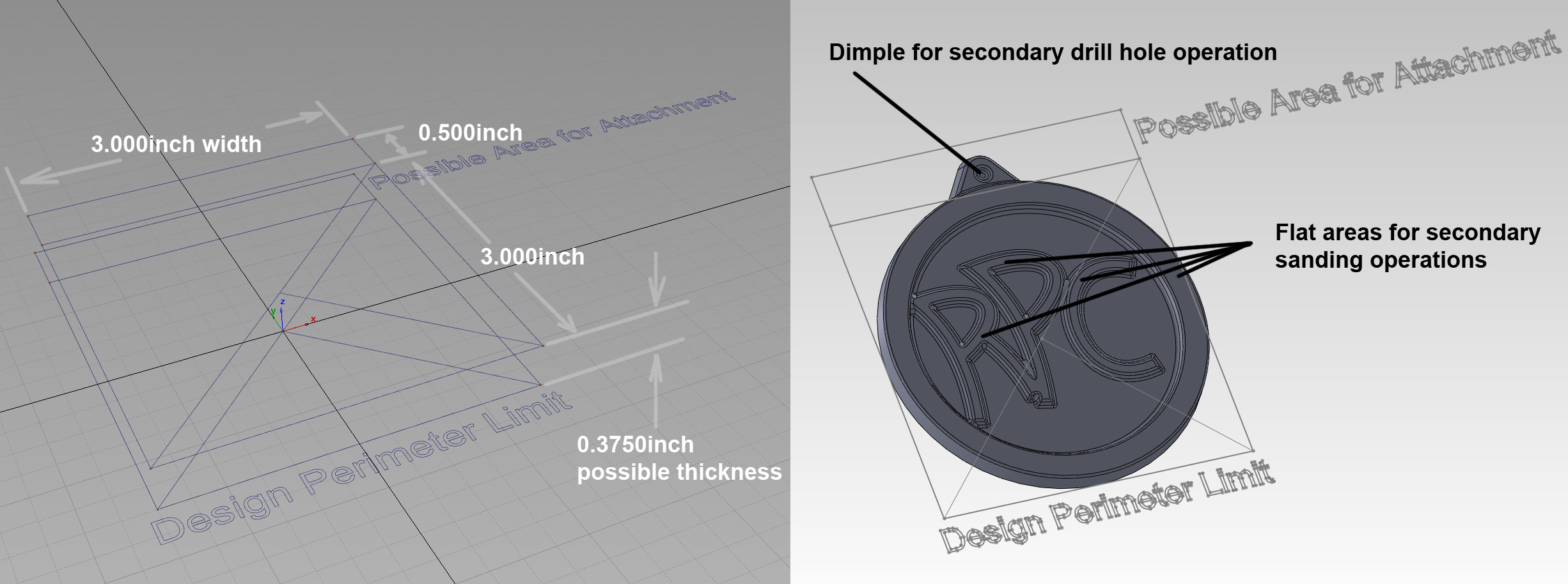 Save this IGES file into your Solidworks session to make sure the design is properly constructed properly.