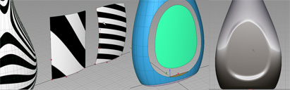 Integrating a non-compound curve surface for a decal.