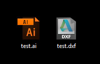 Video covers final touches for Illustrator file prep (document setup, layers, origin set) and dxf file export.