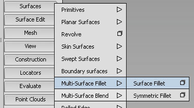 Tool Overview - Surface Fillet