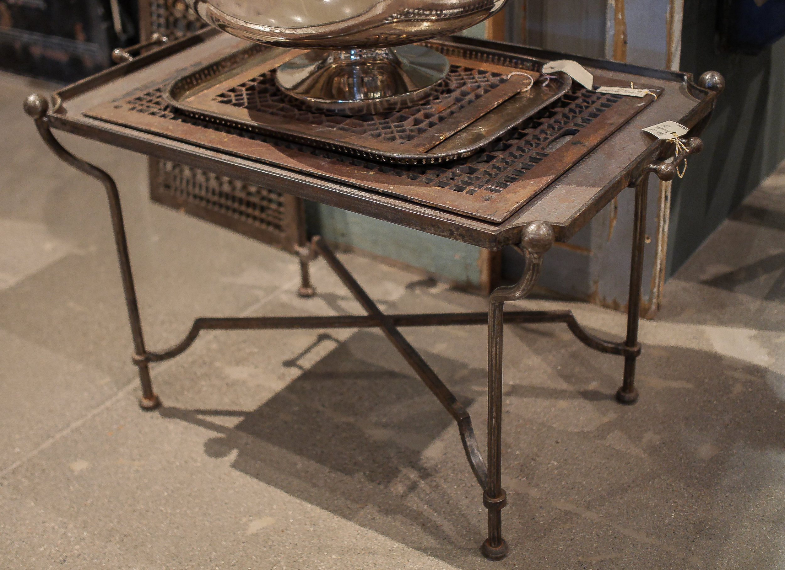 Metal Side Table with Tray.jpg