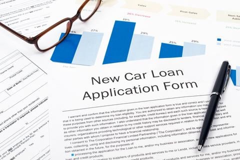 Car loan application fraud