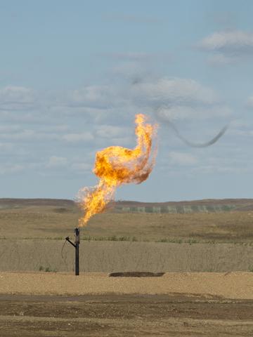 Flaring Natural Gas