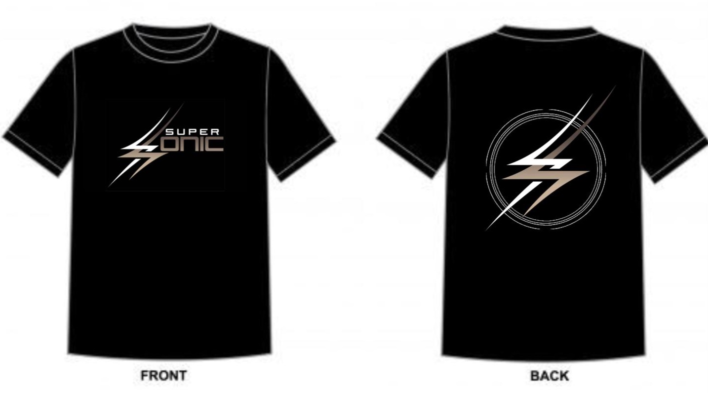 SuperSonic T-Shirt ($25/pc) - Click on the photo to register