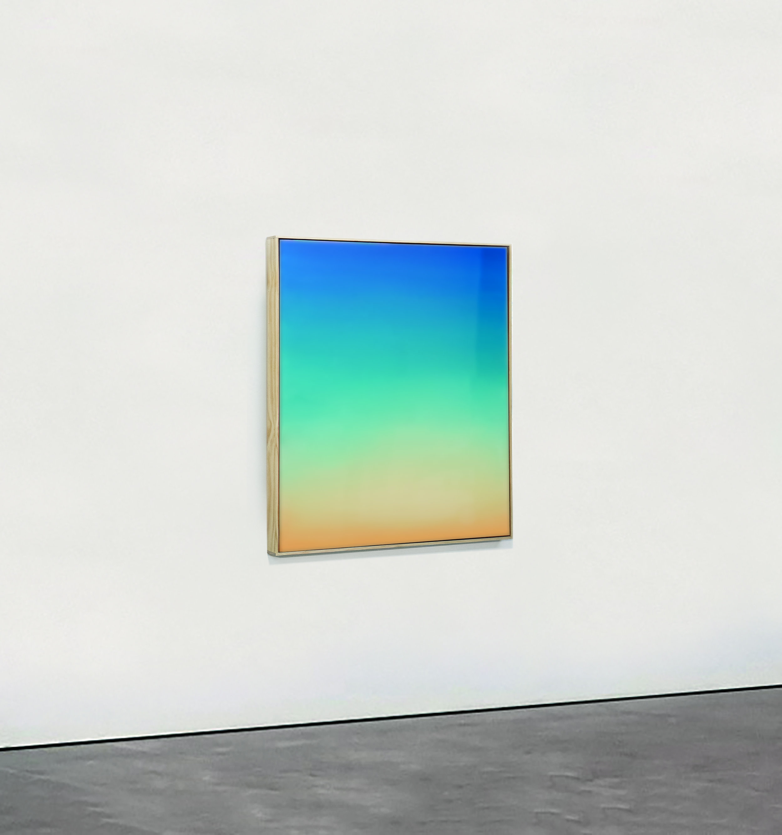 Theo Pinto    Untitled  2019  Oil on Board, Resin 4 x 3 feet