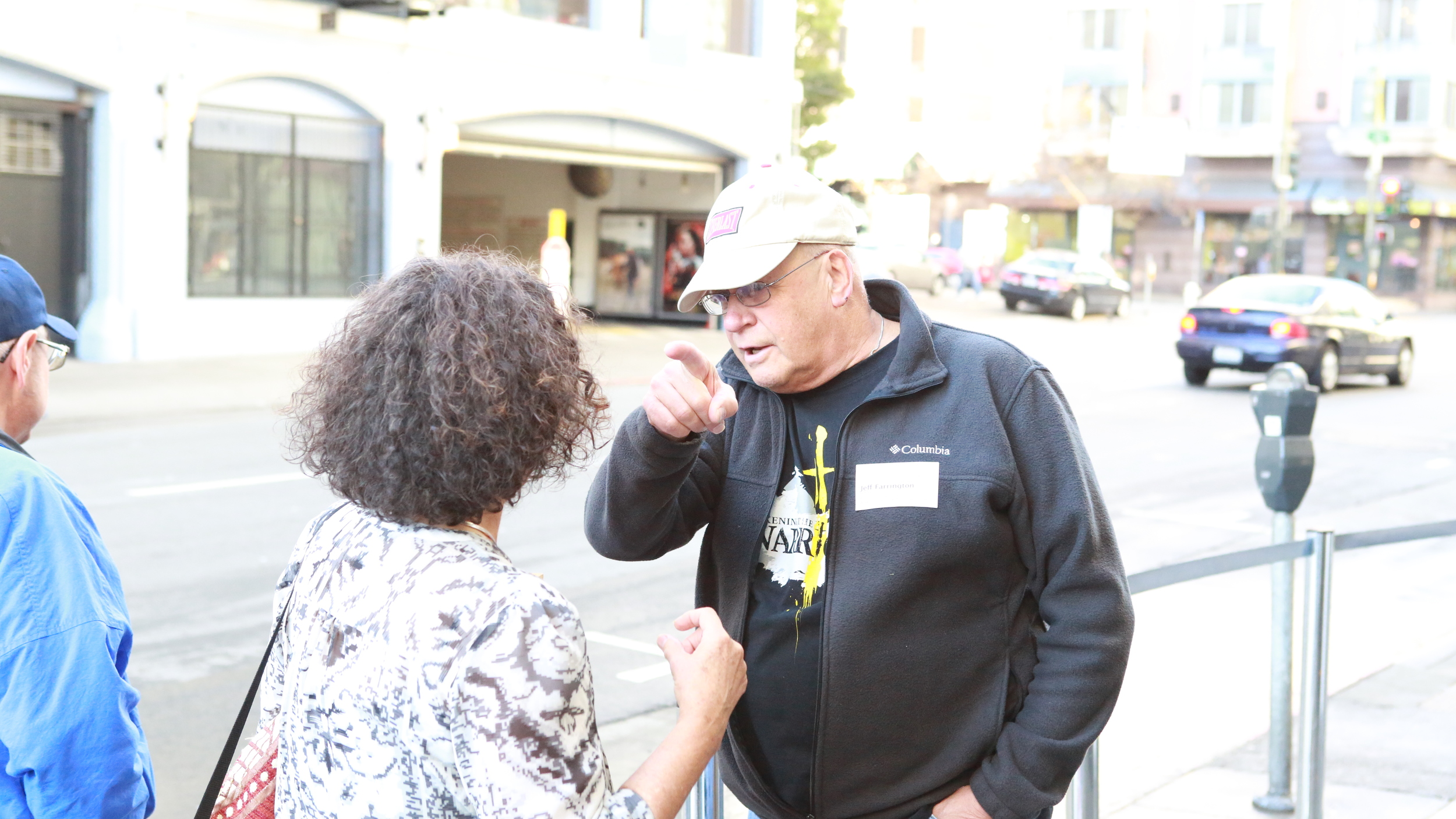 Mr. Jeff Farrington leveraging his life for the welfare of the Tenderloin.