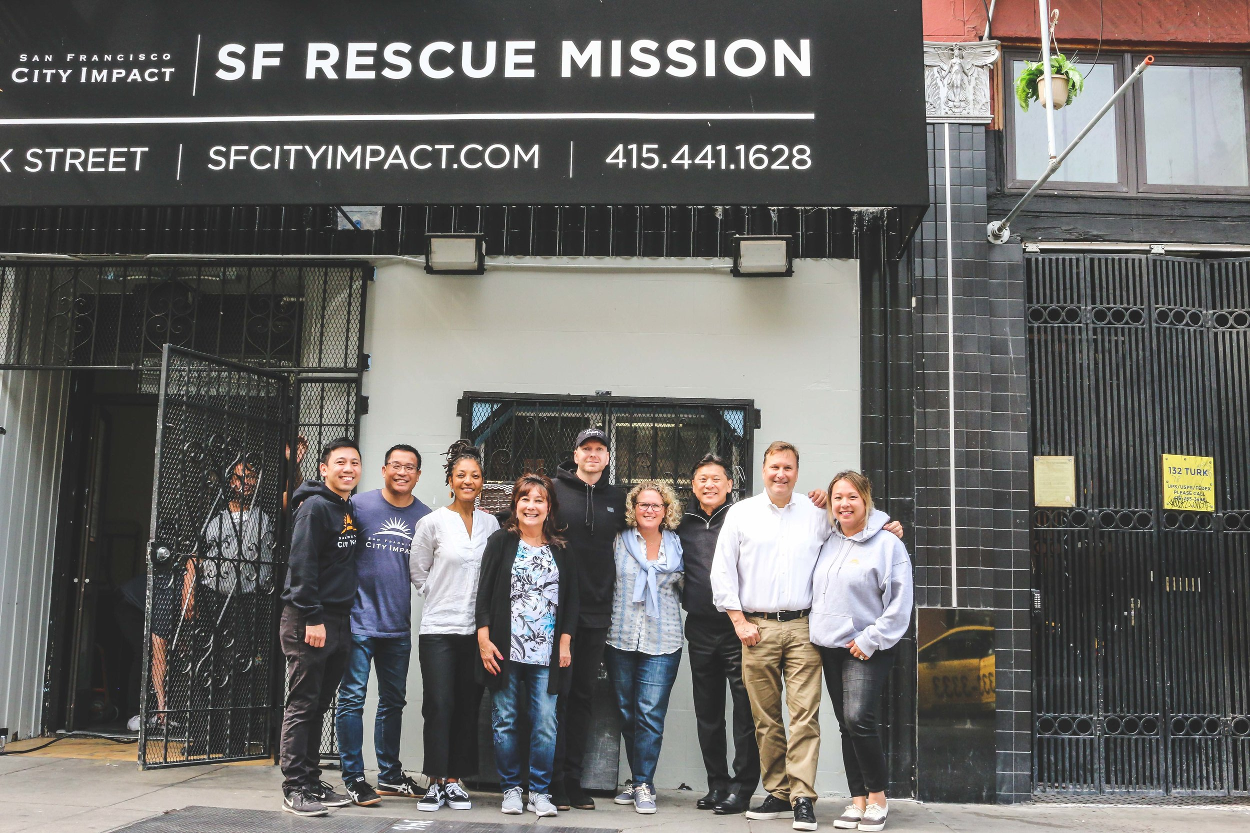 City Impact, Sackcloth & Ashes, and the Cost Plus World Market Team