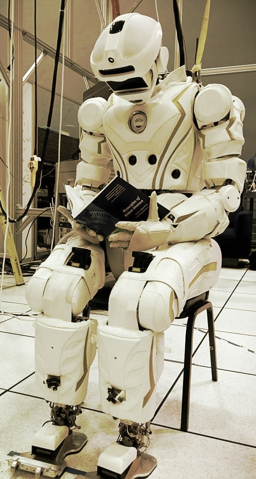 Valkyrie, a humanoid robot developed to help out in crisis situations.