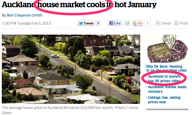 Auckland house market cools in hot January - Business - NZ Herald News.png