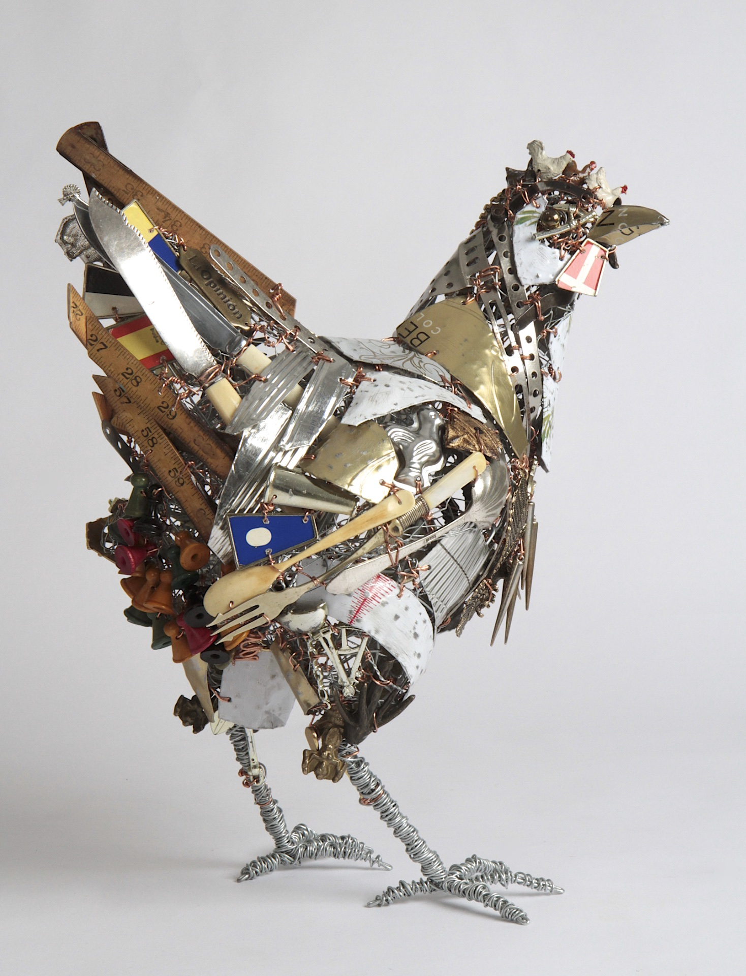 Chicken with attitude 42cm H x 35cm L x 22cm W.jpg