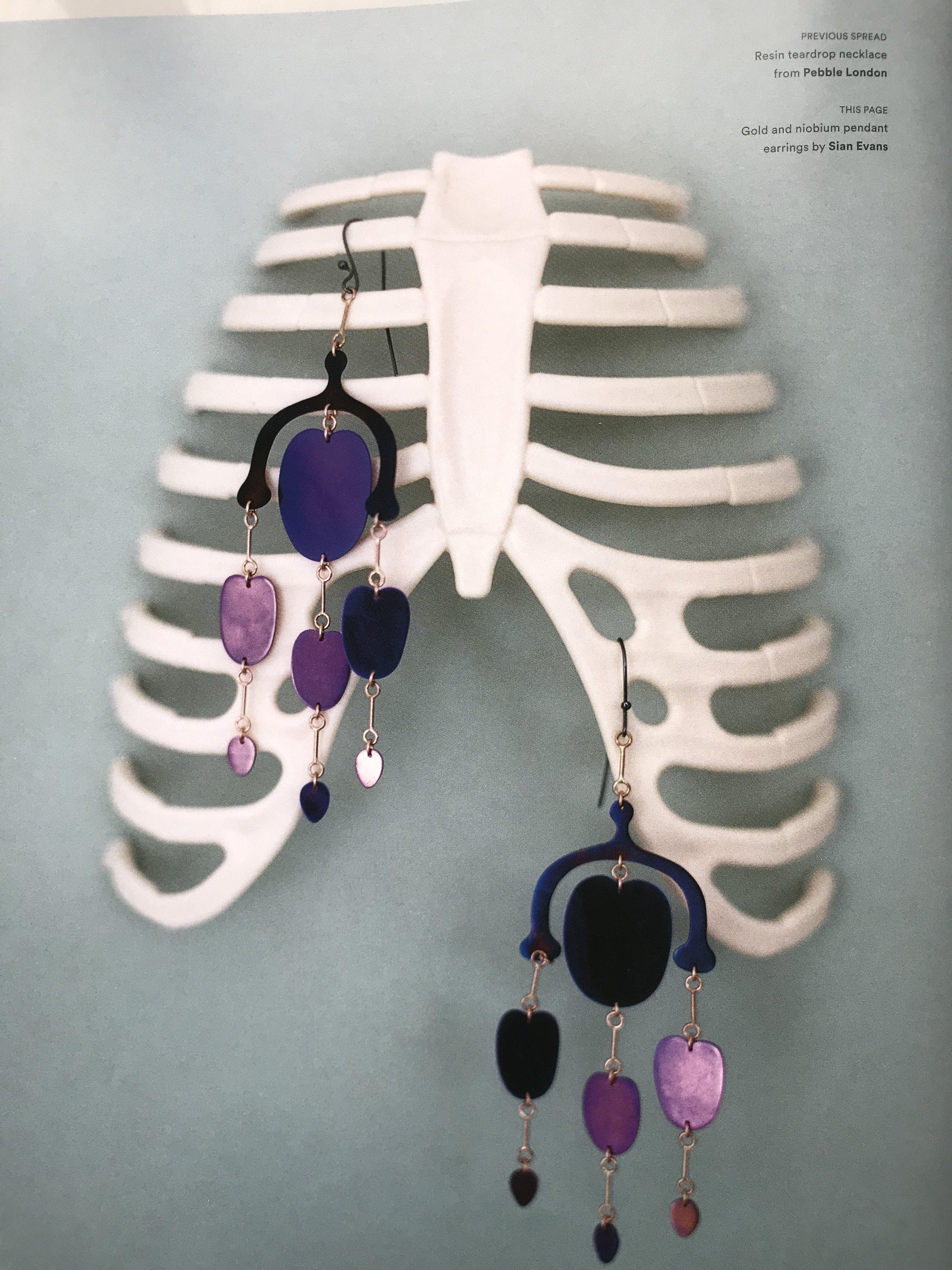 Botany, Gynoecium earrings: Pylot Magazine issue 7 AW17