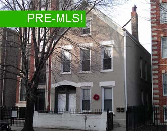 4 unit multifamily building in wicker park, chicago