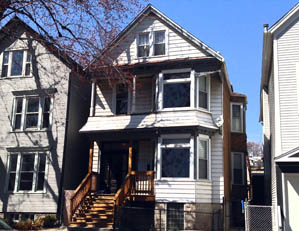 1802 W. School St. Chicago  3 unit multifamily building Buy/hold for investment Seller representation