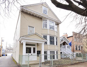 3045 N. HAMILTON AVE. CHICAGO  3 UNIT MULTIFAMILY BUILDING BUY/HOLD FOR INVESTMENT SELLER REPRESENTATION