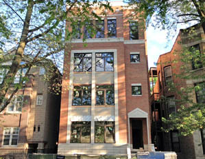 929 W. ALTGLED ST. CHICAGO  4 UNIT CONDO BUILDING PROJECT SALES & MARKETING DEVELOPER REPRESENTATION