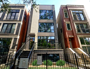 1021 N. Honore St. CHICAGO  3 UNIT CONDO BUILDING PROJECT SALES & MARKETING DEVELOPER REPRESENTATION