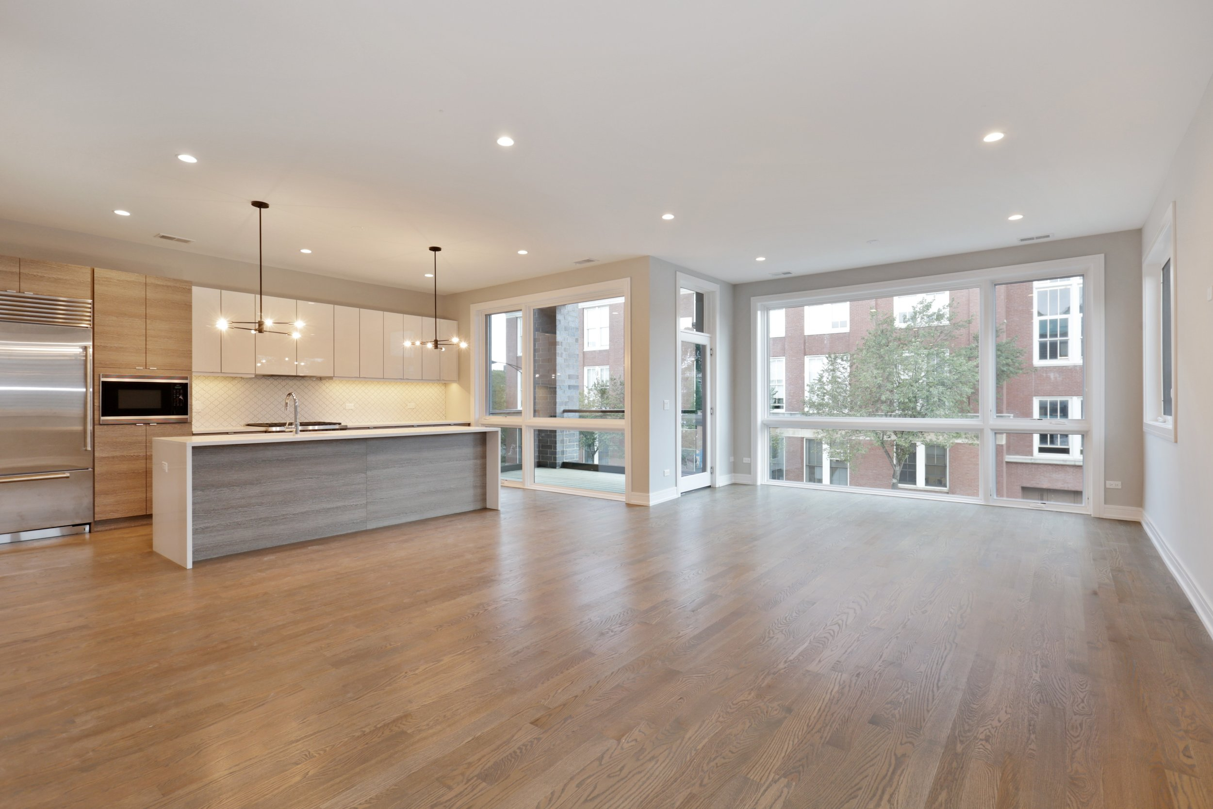 Example Kitchen & Living Room