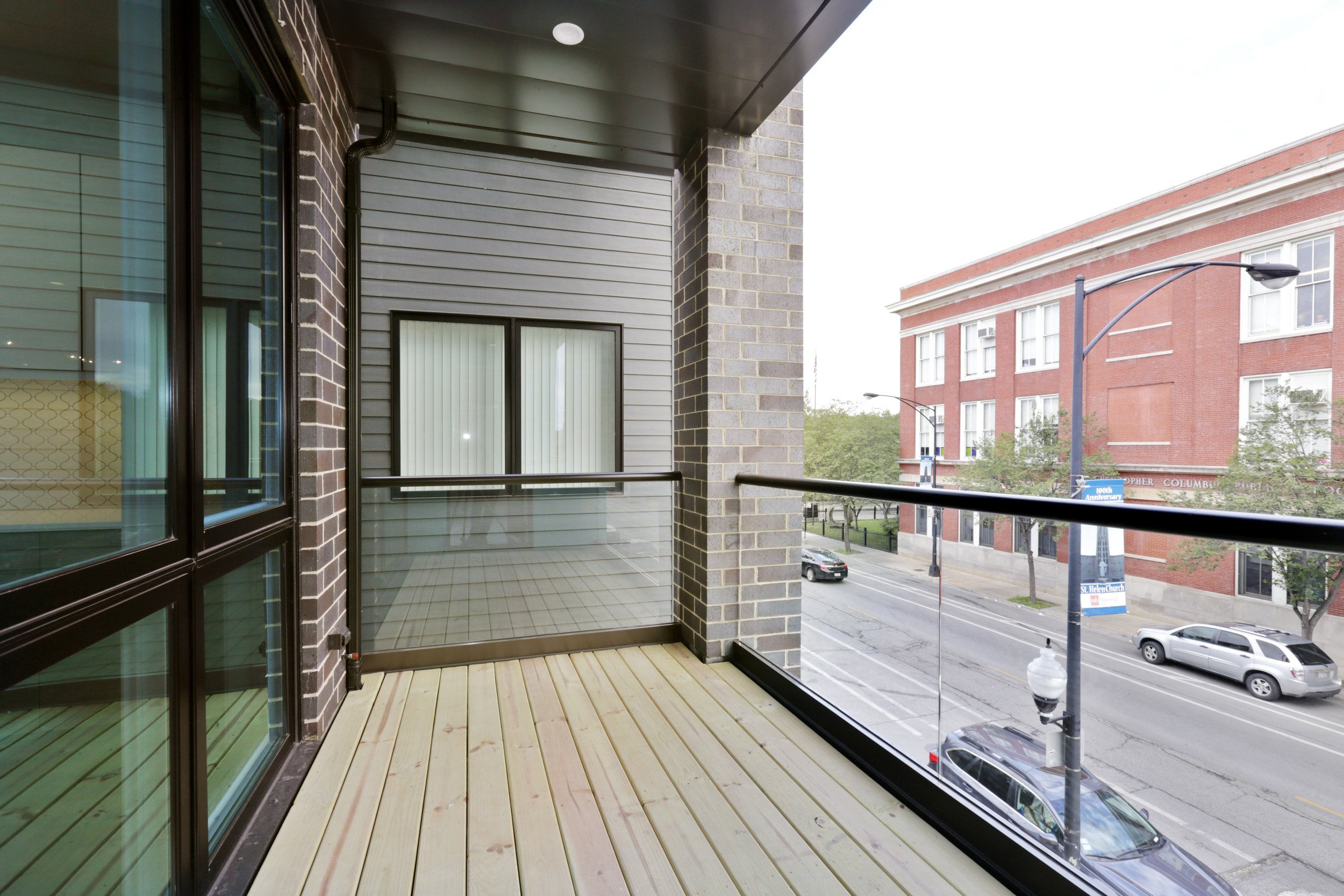 Example Front Balcony