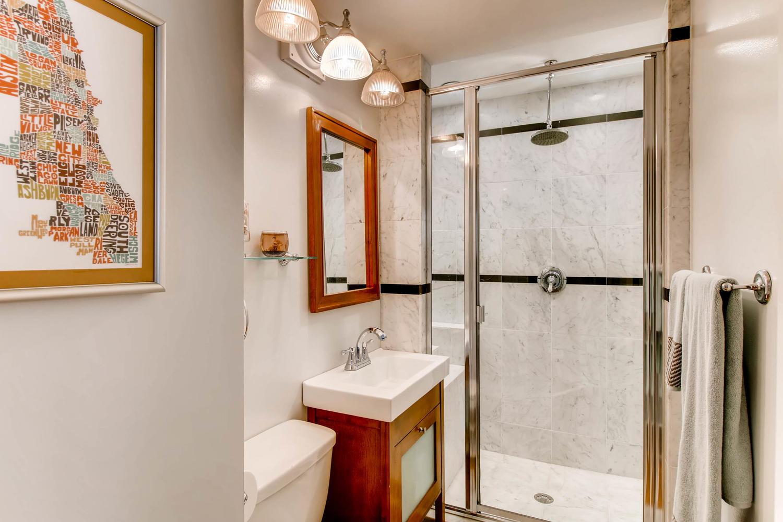 UNIT 2 BATHROOM AT 1623 N MOHAWK STREET CHICAGO.