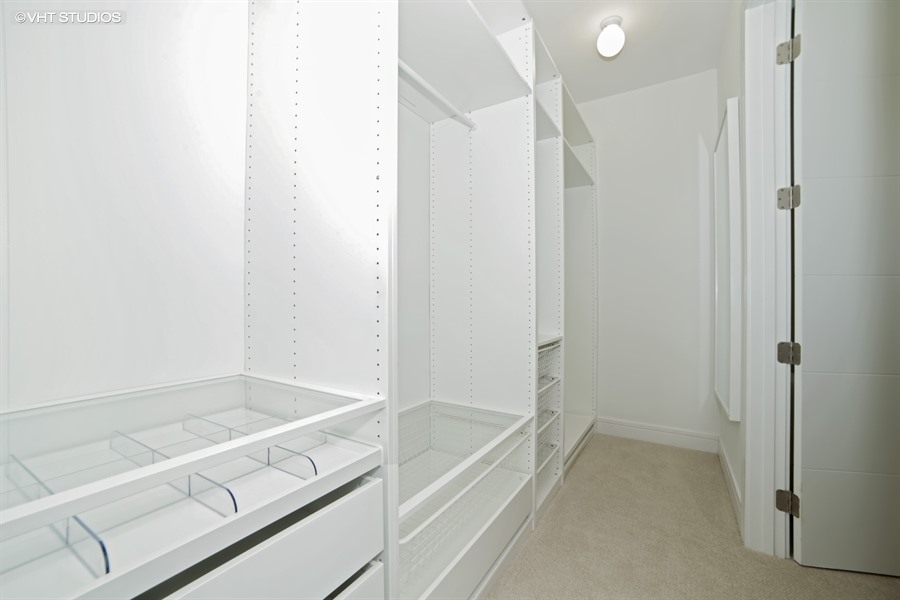 Closet at 877 N Marshfield Ave Unit 1, Chicago, IL
