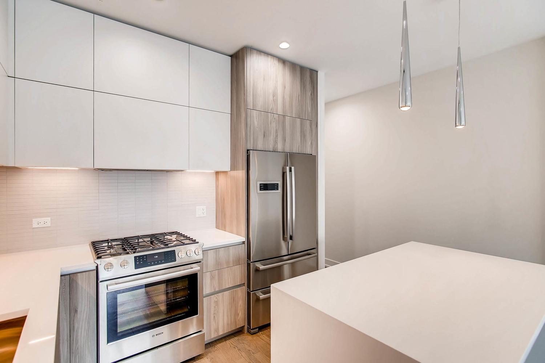 Kitchen at 877 N Marshfield Ave Unit 2, Chicago, IL