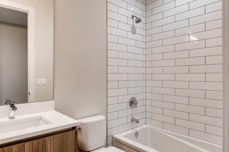 Guest bath at 877 N Marshfield Ave Unit 2, Chicago, IL