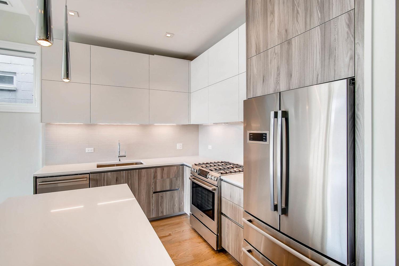 Kitchen at 877 N Marshfield Ave Unit 3, Chicago, IL