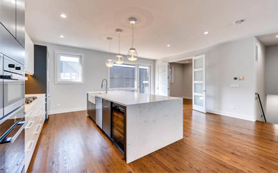 New Construction Kitchen in Logan Square