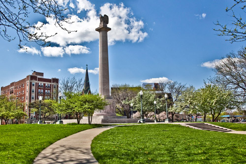 logan square park chicago