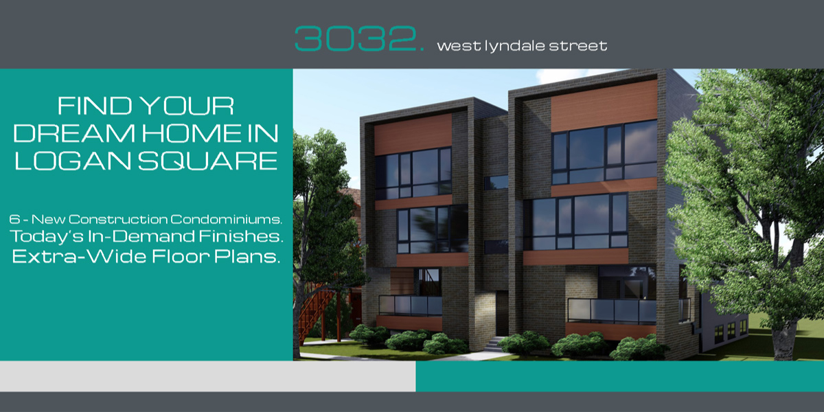floor plans and kitchen finishes for new condos in logan square located at 3032 w lyndale st, chicago