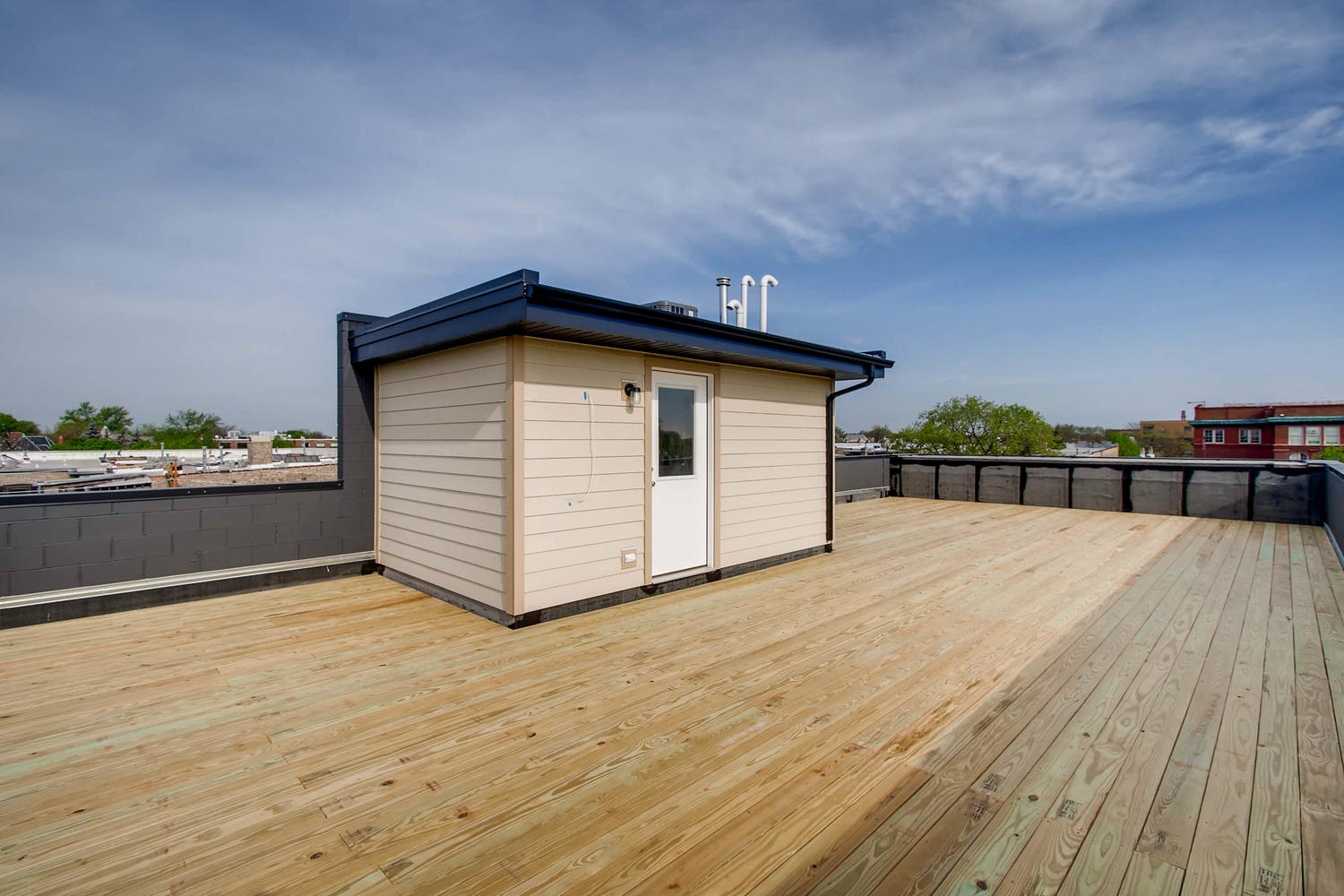 Example Unit 3 Roof Deck & Bonus Room