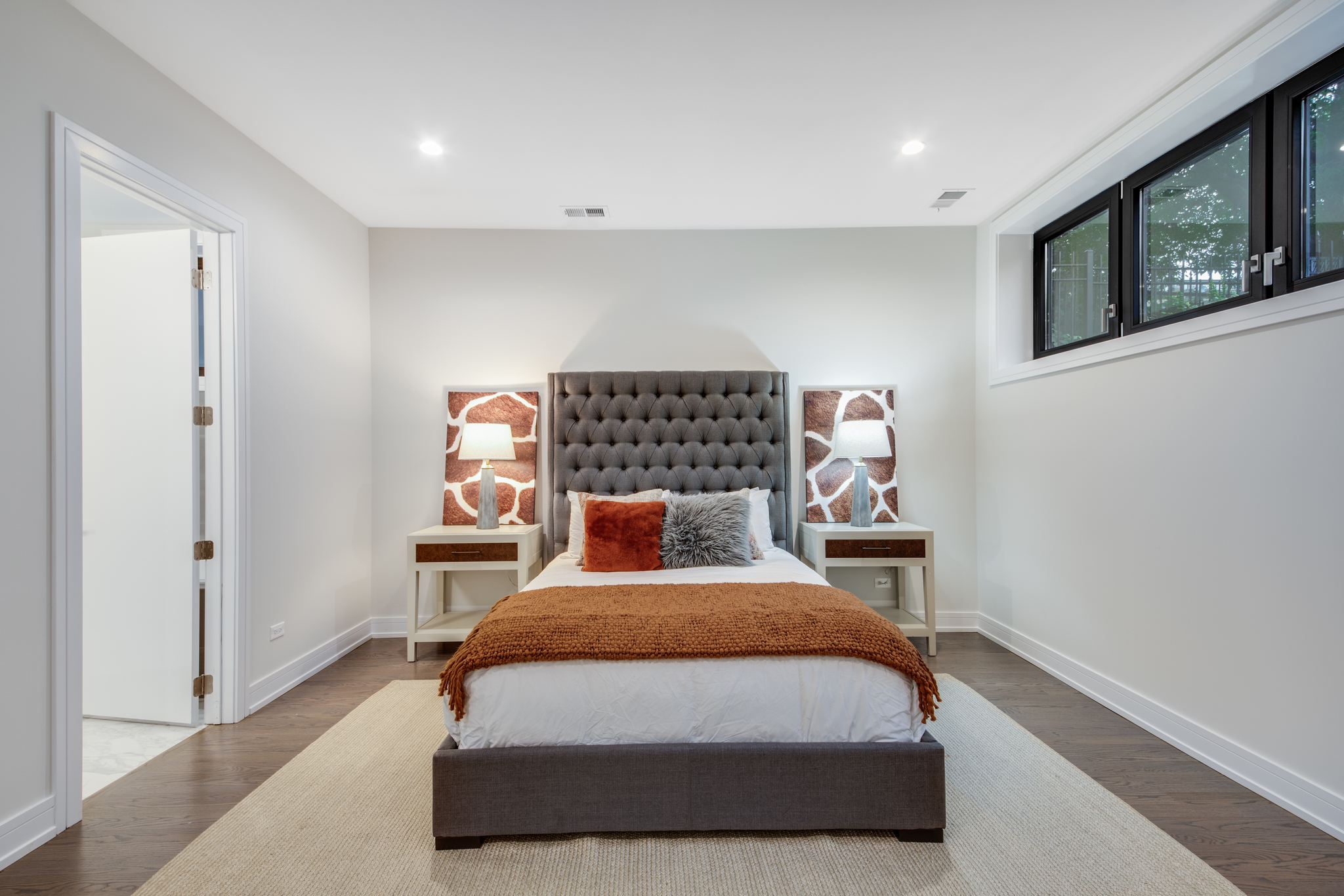 Example Unit 1 Master Bedroom